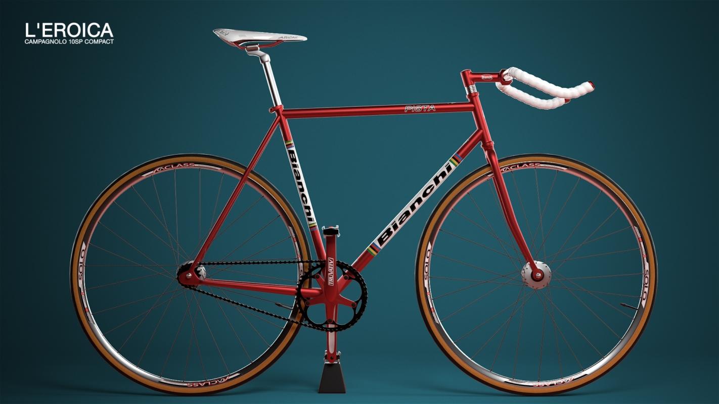 3D Visualisation: Bianchi Bicycle