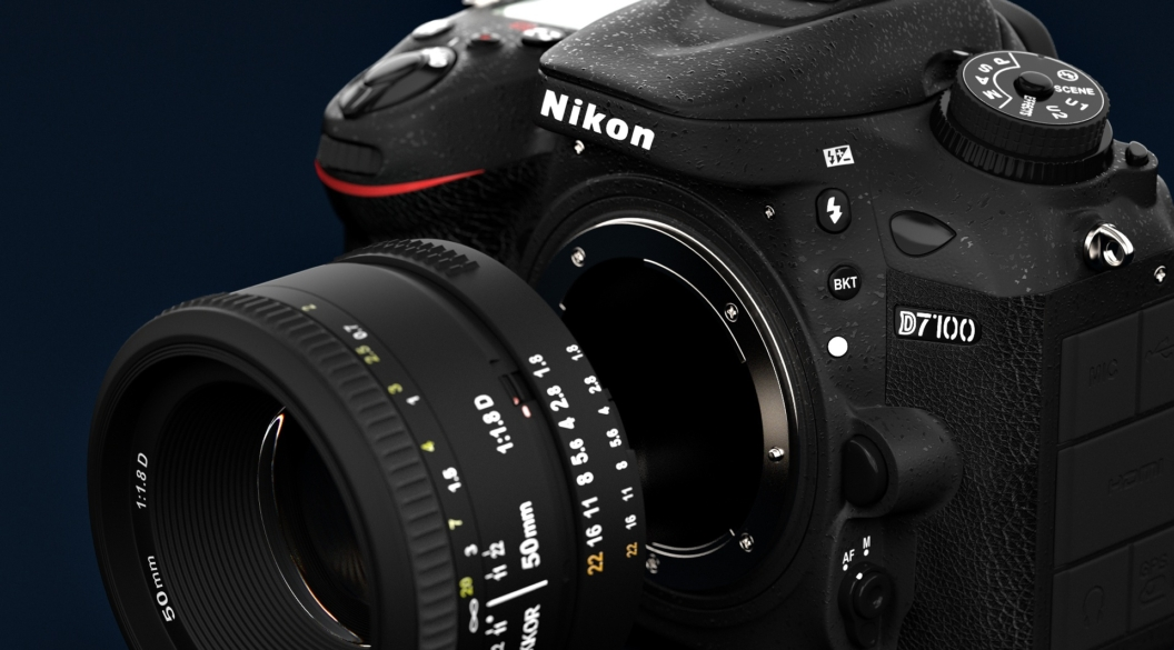 3D Visualisation: Nikon D7100
