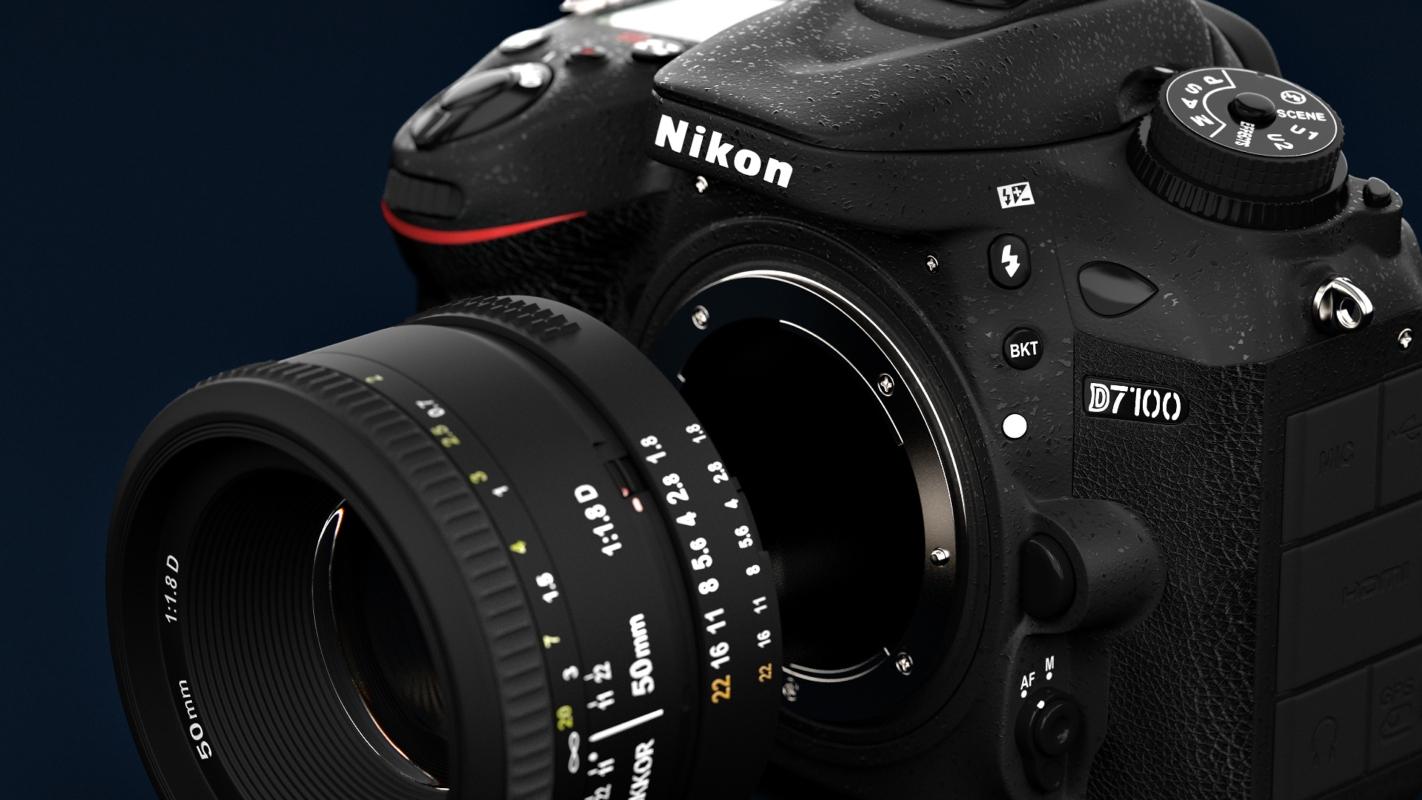 3D Visualisation: Nikon D7100