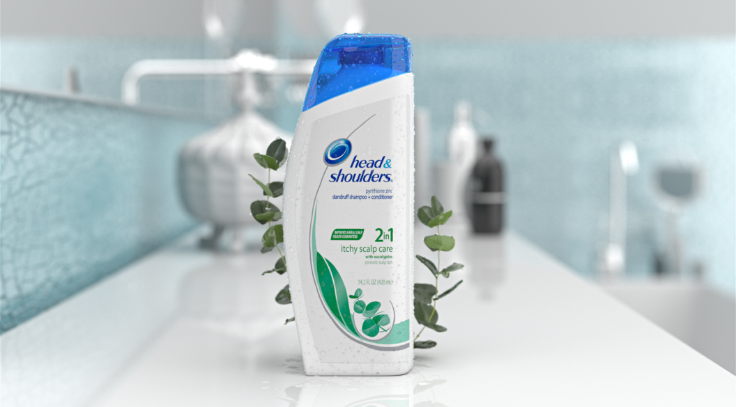 3D Packshot: Head & Shoulders